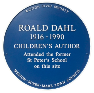 Roald Dahl Blue Plaque