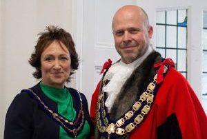 Mayor and Mayoress of Weston-super-Mare