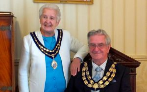 The Mayor and Mayoress Cllr Mrs M Lyall 2018 2019