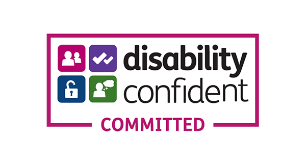 disability confident tile logo