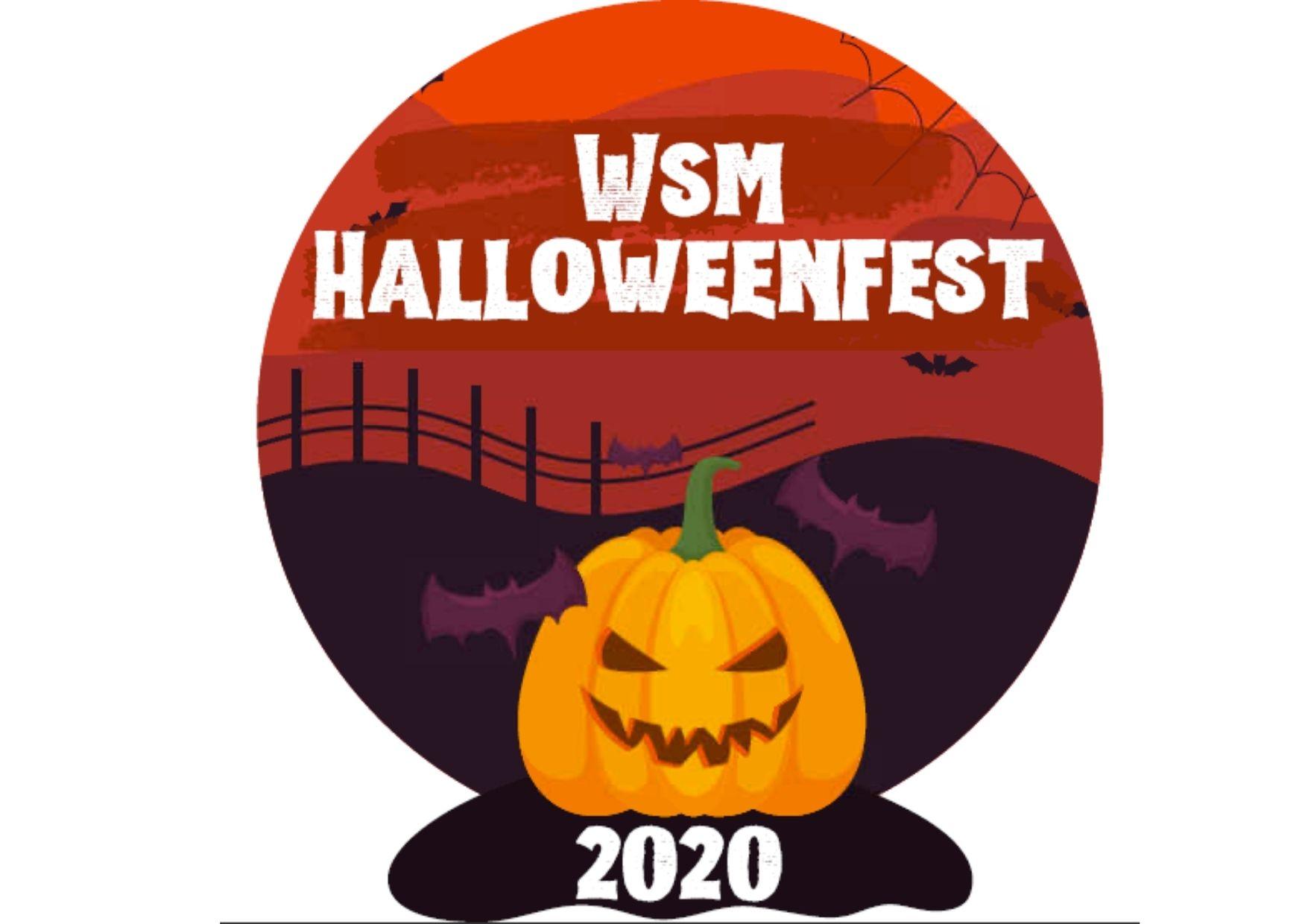 WsM Halloween fest logo