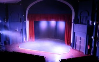 The stage Blakehay Theatre