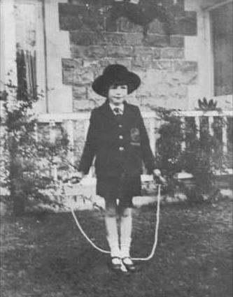 Deborah Kerr as a child in WSM